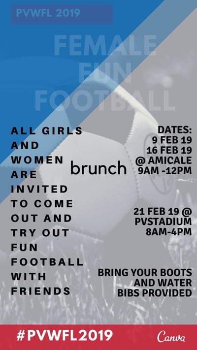Woman's Football Funday