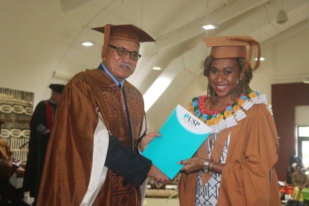 Konroti Emalus graduation