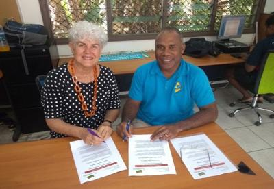 MOU Signed Between Table Tennis And Vanuatu Paralympic Committee