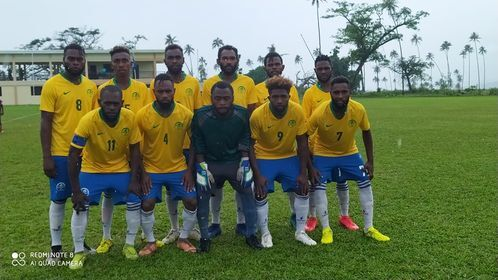 VFF NSL emi kik off long Lugainville Soccer stadium
