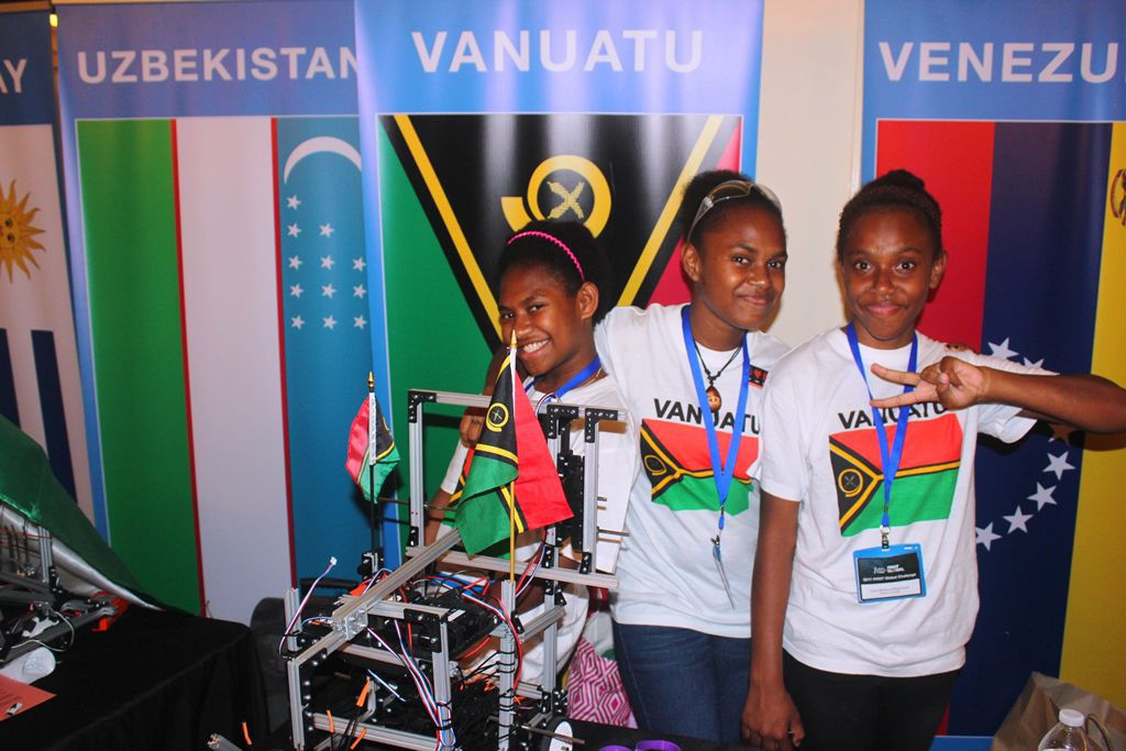 Team Vanuatu ranked 163rd in FIRST Global tournament