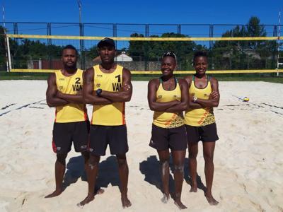 Vanuatu beach volley