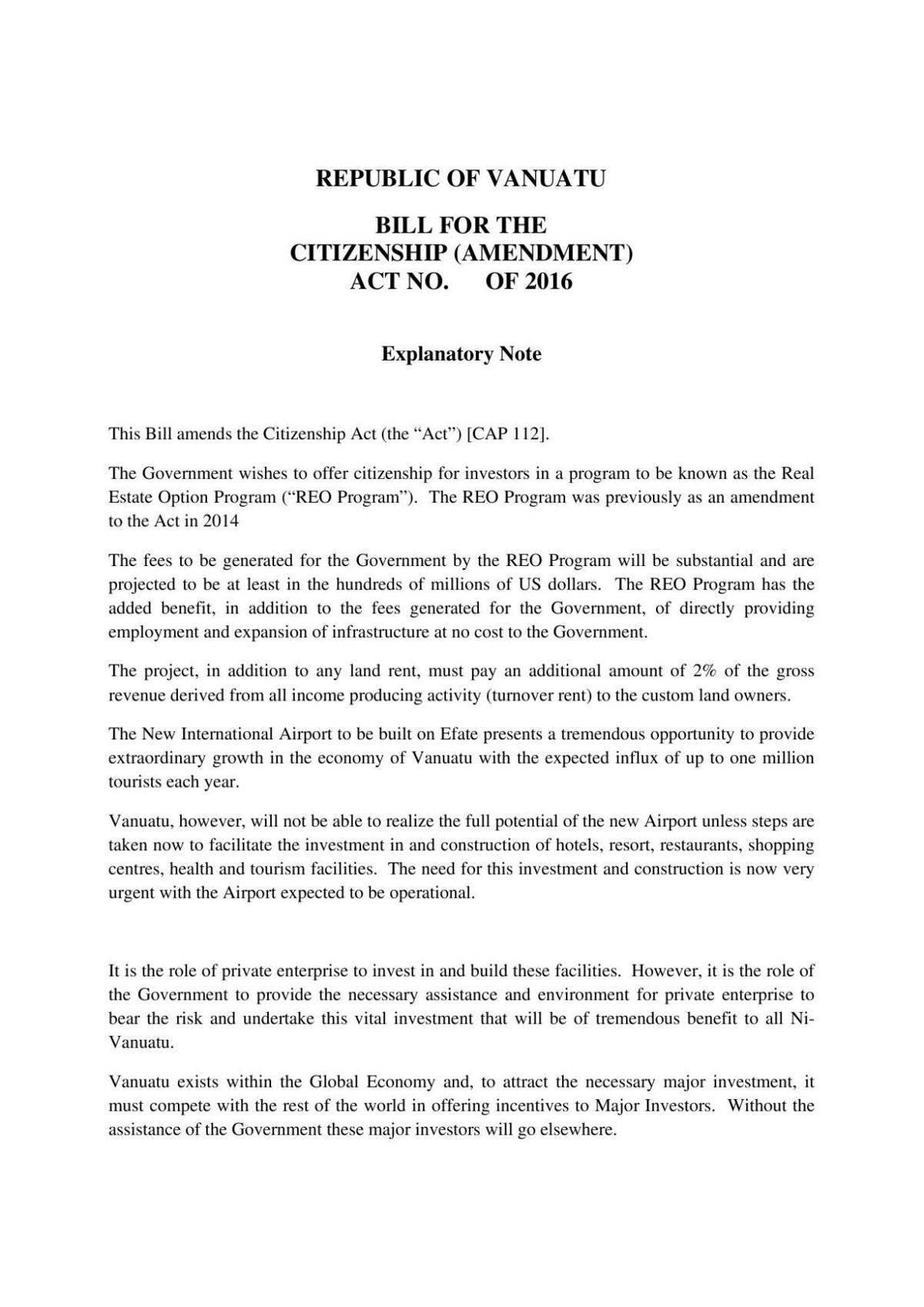 Bill for the Citizenship (Am) Act No. of 2016.pdf