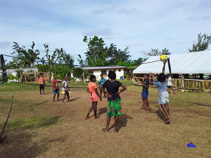 Volley4change continues to spread volleyball message in Santo