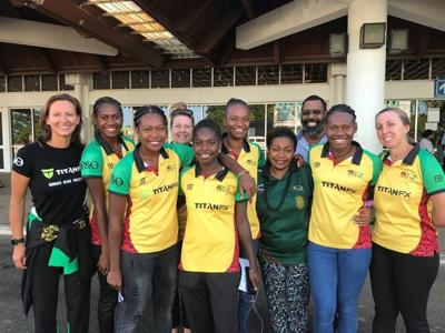 Vanuatu Beach Volleyball teams depart Port Vila