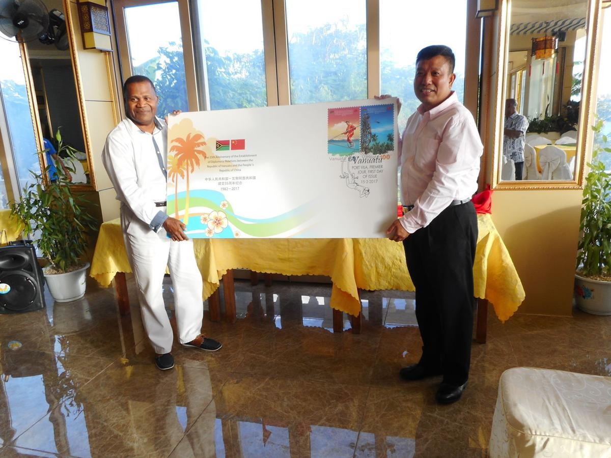 Vanuatu Post and Chinese Embassy launch new stamps