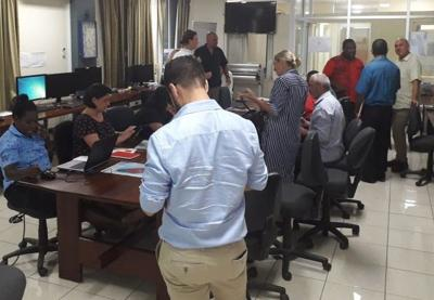 Multi-Cluster Team leaves for Ambae to conduct assessment