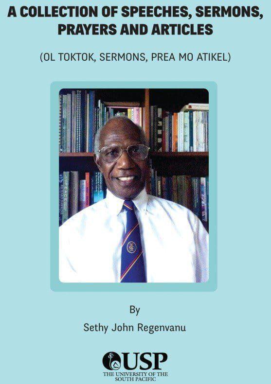 Pastor Regenvanu shares insight from new book