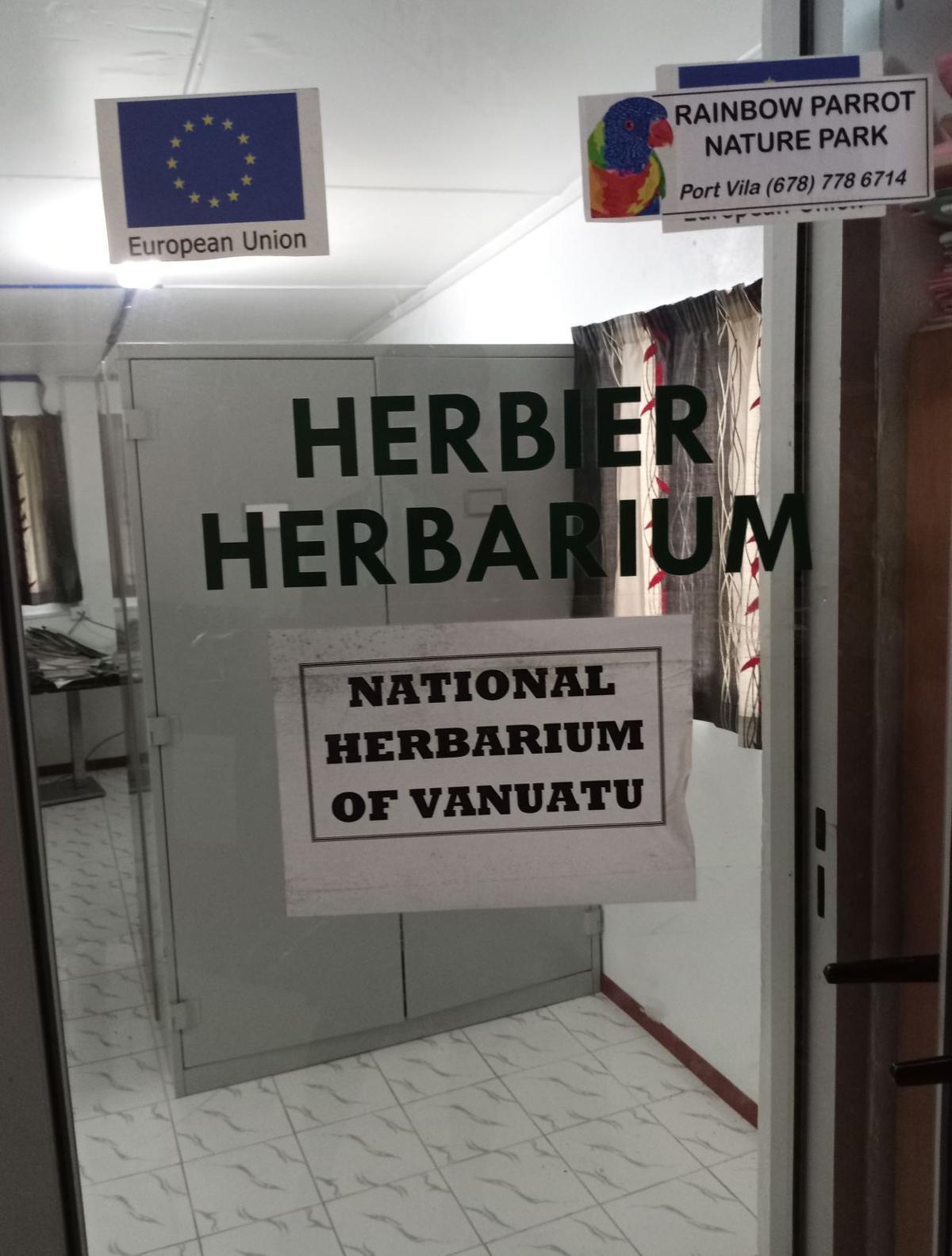 Vanuatu needs a separate National Herbarium facility