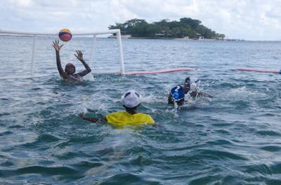 Wan Smolbag wins Water Polo Competition