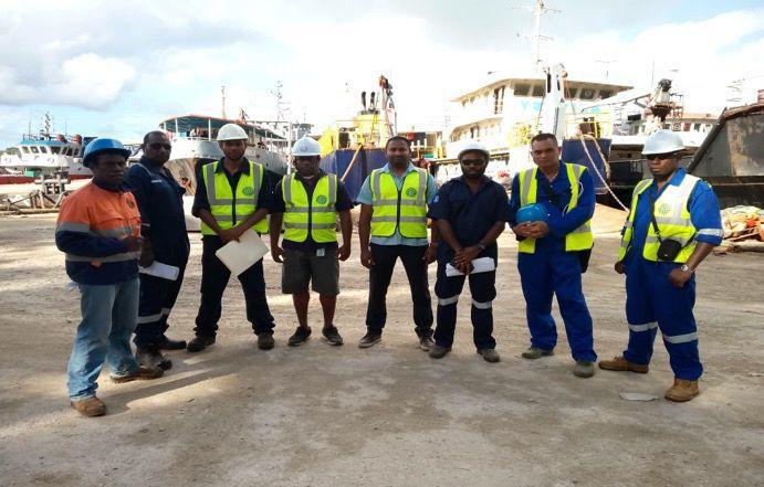SPC trains Vanuatu Ship Inspectors and Surveyors