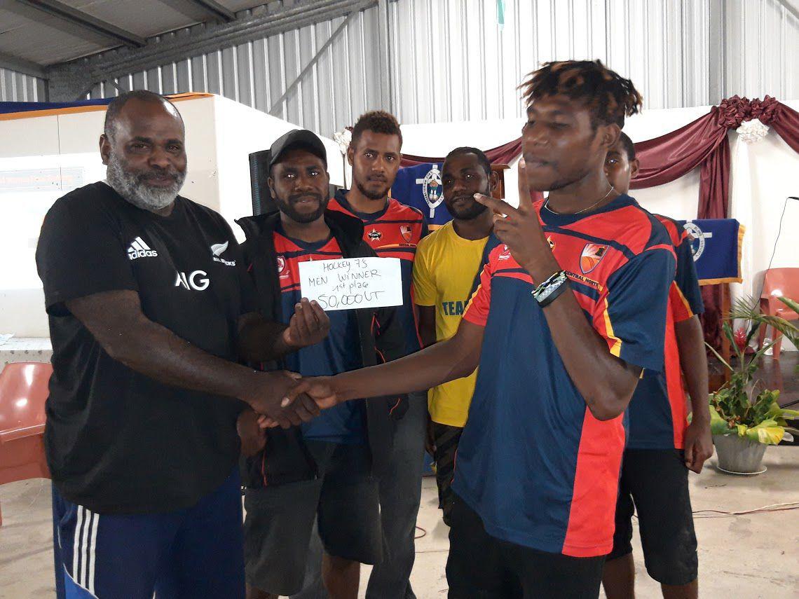 Vanuatu Hockey 7's Presentation at Tanouliu Village