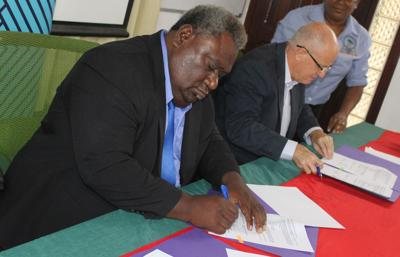 MOA formalizes NZ funded education projects