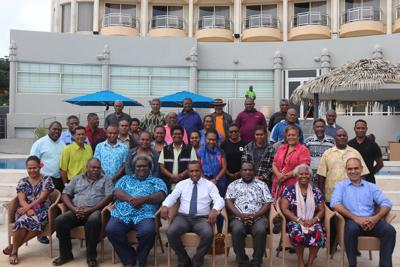 DOI Conducts Vanuatu Agro-Business and Manufacturing Council Consultation Meeting
