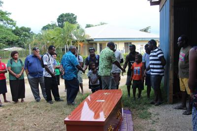 Minister Seremaiah and DG to accompany body of deceased student to Malekula