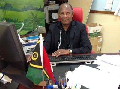 Malapoa College Principal Reginal Garoleo