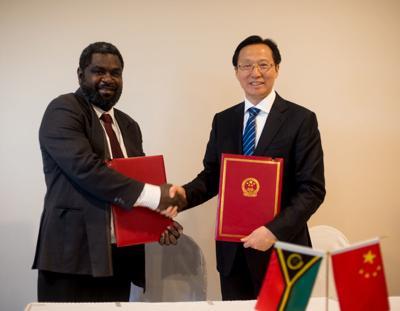 中国将投资瓦努阿图的生产部门