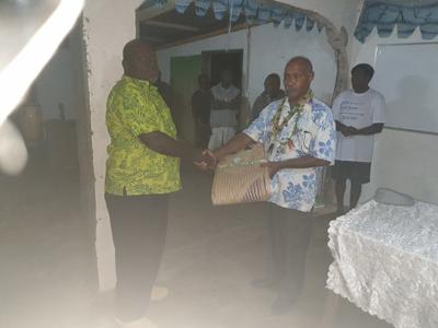 VP Efate RCC Chairman welcomes Emua supporters