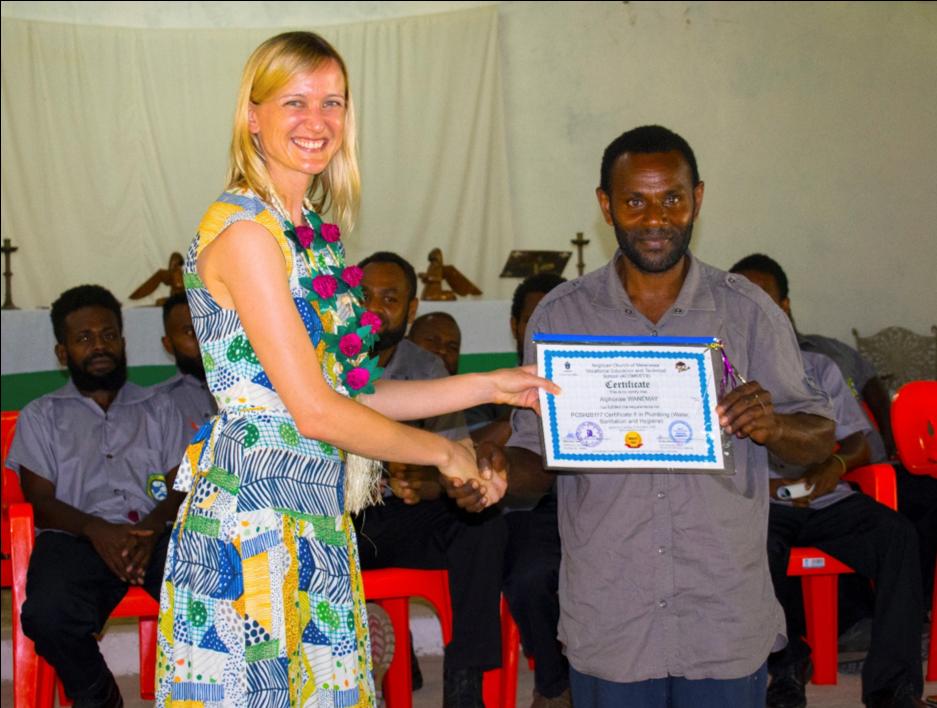 First Ever Certificate II in Plumbing Graduation