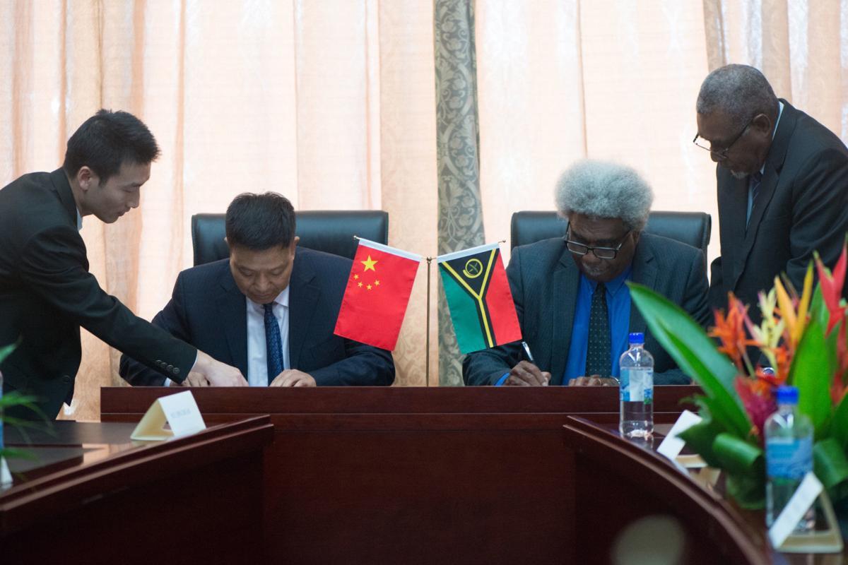 China donates more to Ambae relief