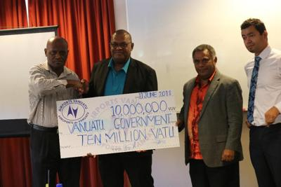 AVL pays Vt10 m dividend to Government