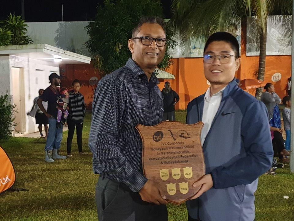 Wilco 2 winner of TVL Corporate Volleyball Wellness Shield 2019