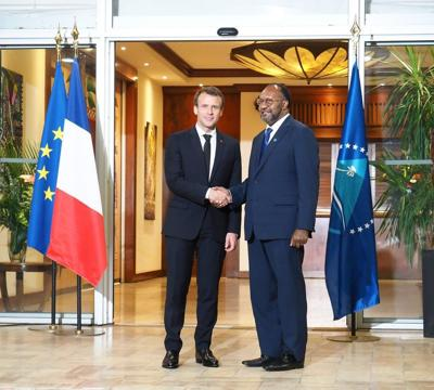 French President meets Salwai