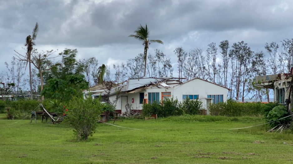 Internet Connectivity Services for Lycée de Luganville in the aftermath of TC Harold