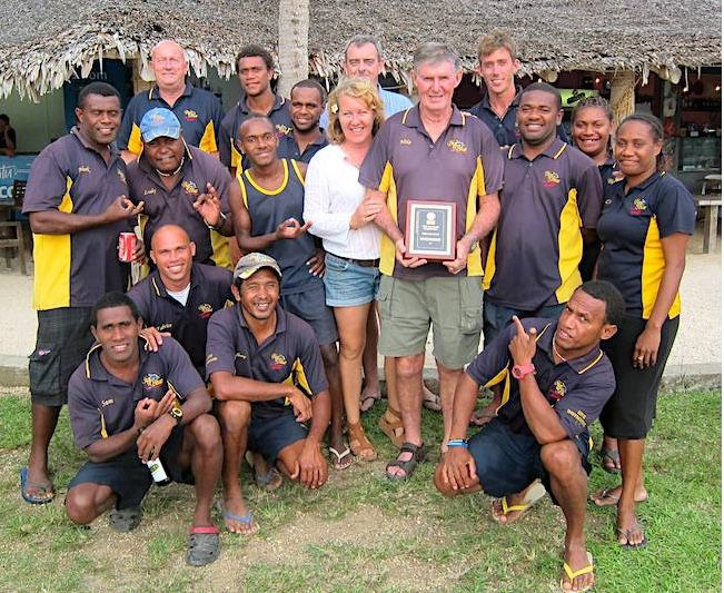 Vanuatu Tourism Office celebrates the life of Board Member 'Abu' Mike Crawford