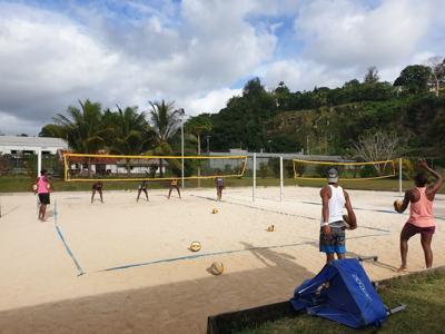 Vanuatu Women Beach Volleyball team to compete at the first World Beach Games