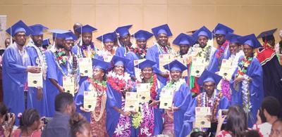 First  bilingual masters graduates
