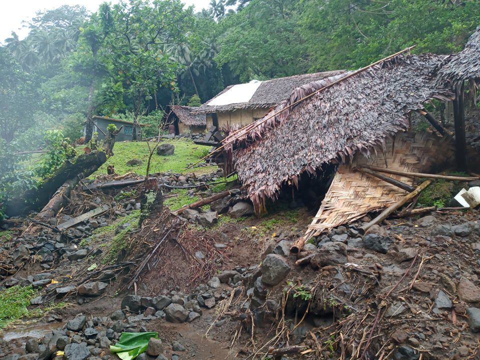 South Maewo Heavily Affected by Landslide
