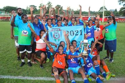 Port Vila Woman Futbol Lik fes sisen i komplit