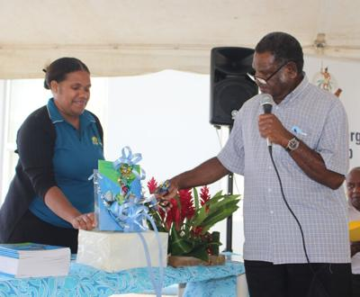 Climate Change Minister Lini, launches Updated National Energy Road Map