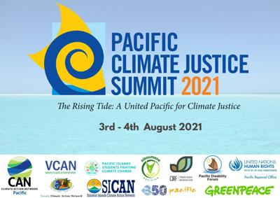 First Pacific Climate Justice Summit next month