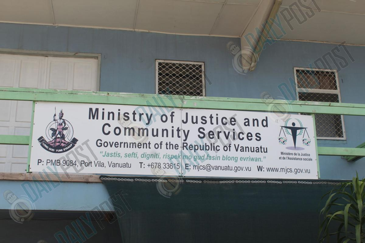 NEW FISHERIES MINISTRY TO REPLACE MINISTRY OF JUSTICE