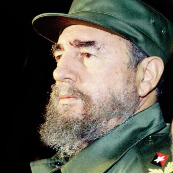 Late former President Fidel Castro of Cuba