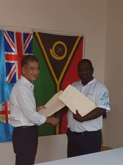 MALFFB signs Public Private Partnership with Flysha (Fiji) Limited