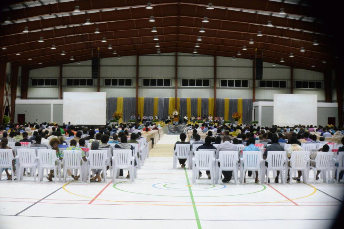 Vanuatu SDA Mission officially opens Multi-Purpose Hall