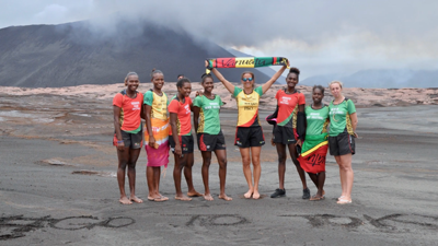 P&O Cruises Australia and guests give Vanuatu Women's Beach Volleyball team timely support to help achieve Tokyo Olympic dream