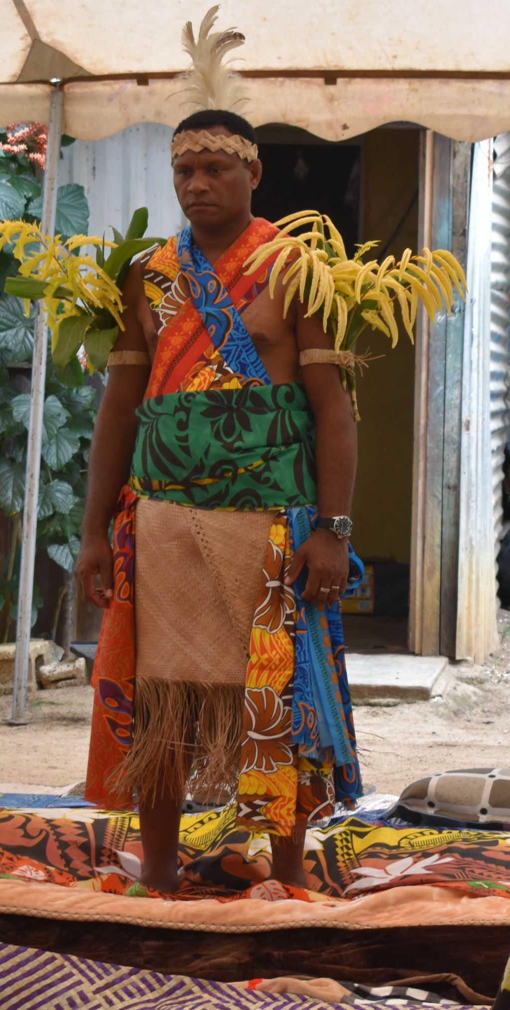 New Makira Paramount Chief Masoerangi