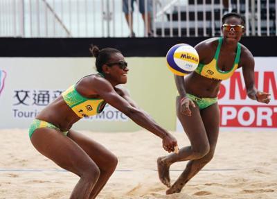 Vanuatu beach Volleyball team prepares for China