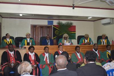 Vanuatu judges
