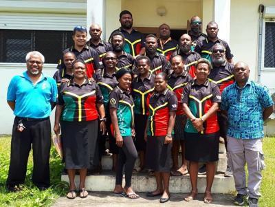 Vanuatu Darts team settled well  in Niue