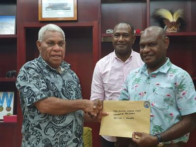 Vanuatu First Party MP Appointed Leader of Gov't Business