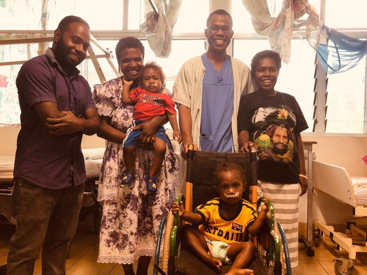Interplast conducts surgical mentoring programs at VCH
