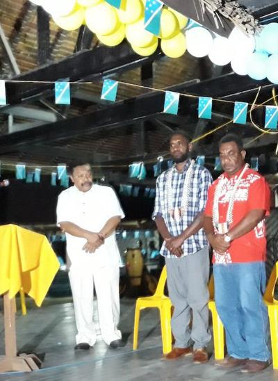 Solomon Islanders bring their handicrafts to Port Vila