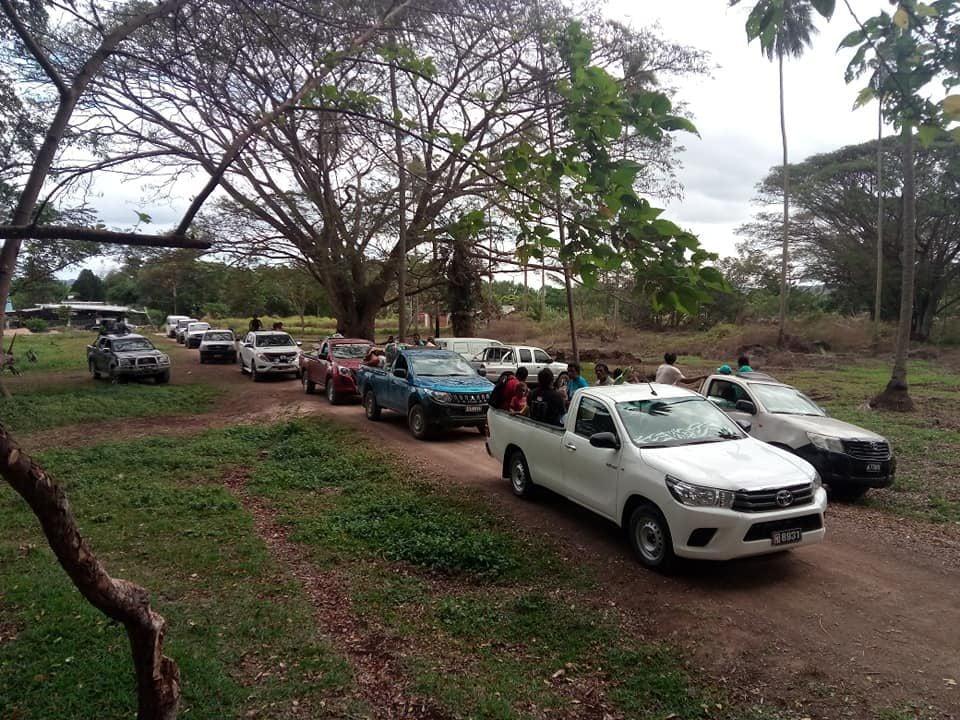 Over 3,000 evacuees voluntarily move to Santo