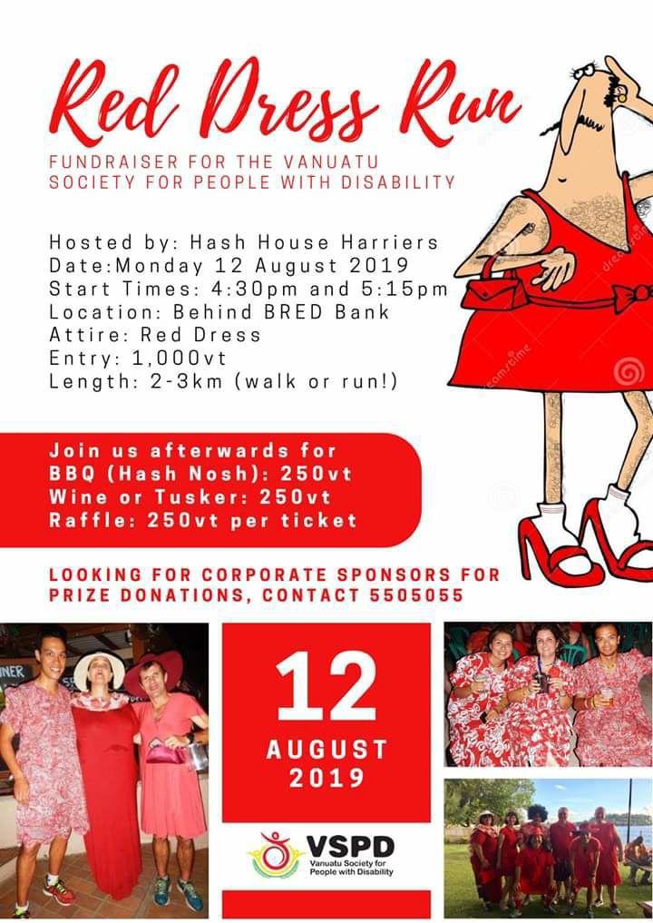 Red Dress Charity Run