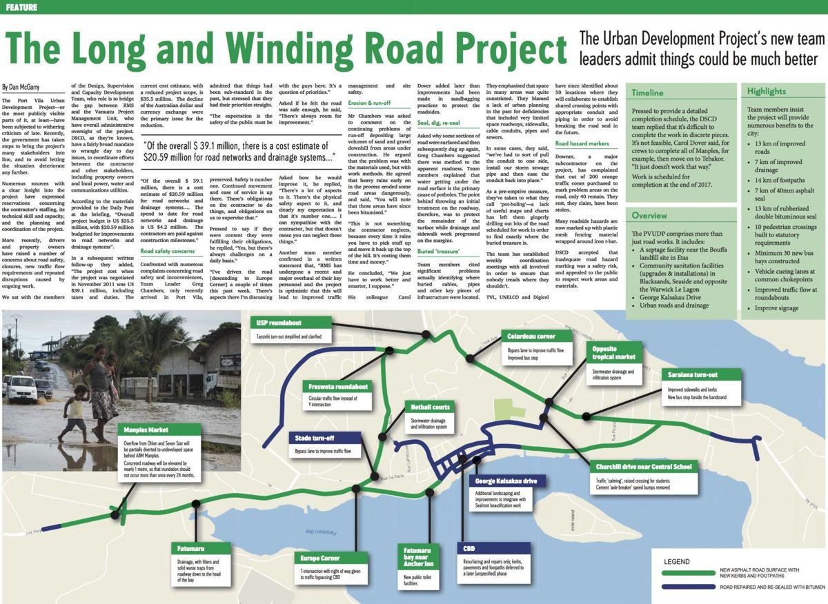 The Long and Winding Road Project